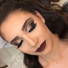 Tem alguma outra palavra para descrever essa maquiagem que não seja perfetiçao ? ❤ Parabéns pelo trabalho incrível @patriciazanattamakeup