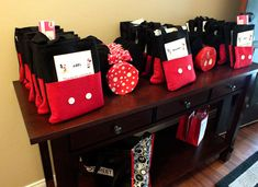 Mickey Mouse Party Favors Gift Bags