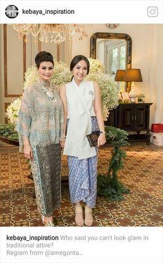 Ideas vintage wedding guest outfit fashion for 2019 Kebaya Lace, Batik Kebaya, Kebaya Dress, Batik Dress, Kebaya Brokat, Dress Pesta, Lace Dress, Beanie Boos, Batik Fashion