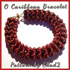 O-Caribbean Bracelet beaded by Natalie Chávez. Beautiful! Thank you for the photo!
