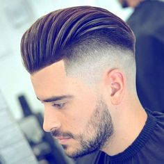 Top 10 Best Fade Haircuts for Men - Hairstyles for Men Best Fade Haircuts, Stylish Short Haircuts, Cool Mens Haircuts, Cool Hairstyles For Men, Men's Haircuts, Popular Haircuts, Comb Over Fade Haircut, Hair And Beard Styles, Long Hair Styles