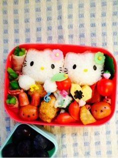 Hello Kitty Bentos (click to see more)