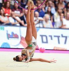 Dina AVERINA (Russia) ~ Hoop @ Grand Prix Holon-Israel 23-24/06/'17 ❤️❤️ Photographer Oleg Naumov.