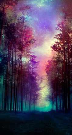 Magical Forest Snap Case for iPhone 6 & iPhone Purple Wallpaper, Scenery Wallpaper, Galaxy Wallpaper, Wallpaper Backgrounds, Beautiful Nature Wallpaper, Beautiful Landscapes, Beautiful Images, Forest Photography, Art Photography