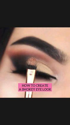 Asian Eye Makeup, Eye Makeup Tips, Face Makeup, Makeup Tricks, Eyeshadow Tips, Eyeshadow Looks, Eyeshadow Palette, Cool Blonde Hair, Eye Liner Tricks