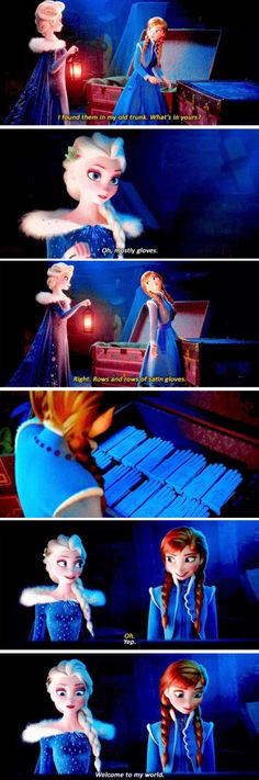 Rows and rows of satin gloves Anna: (opens trunk to see rows and rows of satin gloves) Disney Dream, Disney Fun, Disney Magic, Walt Disney, Disney Stuff, Disney Jokes, Disney Facts, Disney Cartoons, Frozen Disney