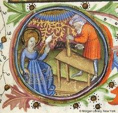 Book of Hours, MS M.64 fol. 124r - Images from Medieval and Renaissance Manuscripts - The Morgan Library & Museum