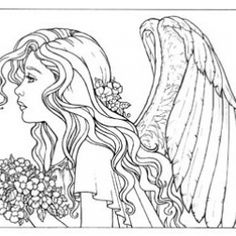 Do you Long tooexperience the angelic? These 16 coloring pages may ...
