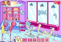 Kuaför Salonu Temizleme Oyunu  Pislenen ve Dağılan Salonumuzu Temizlemelisiniz ! http://www.oyunzet.com/oyun/kuafor-salonu-temizleme.html