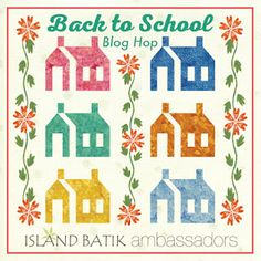 Bonsai Shadow Boxes and Giveaway {Back To School with Island Batik} Quilting Blogs, Quilting Designs, House Quilts, Back To School, Island, Projects, Giveaways, Barns, Den