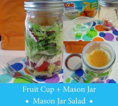 Soup Spice Everything Nice: Recycle Tip: Fruit Cups + Mason Jars
