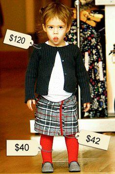 Honor Warren dresses to impress Designer Baby Clothes, Celebrity Babies, Baby Design, Dress To Impress, Hipster, Celebrities, Vintage, Dresses, Fashion