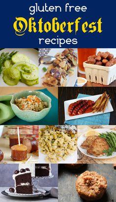 Gluten Free Oktoberfest Recipes