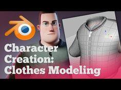 Character Modeling in Blender - 02 Sculpting - YouTube