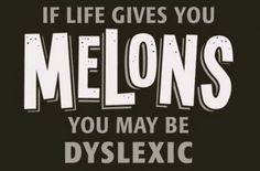 hmmm... Love this....'because' you say? I am a dyslexia therapist, thats why.