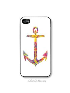 Nautical Anchor Psychedelic - Apple iPhone 5, 4/4s Case. FREE SHIPPING - Worldwide.. $15.99, via Etsy.