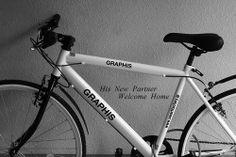 My son's bike