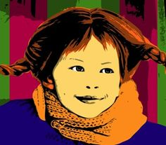 pippi.  my children/nieces/goddaughter will have a collection of these books.  I loved them as a child.