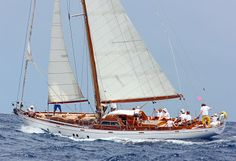 Laurent Giles 62' Bermudan Cutter