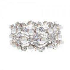 1920 style art deco wedding bracelet
