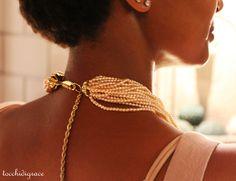 modella per un giorno http://tocchidigrace.wordpress.com/2012/08/21/perle-vintage-e-champagne/#