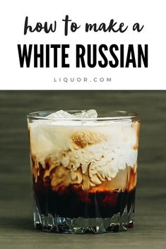 The White Russian is a classic cocktail that was made famous by The Big Lebowski. This simple cocktail combines vodka, Kahlua, and cream that creates a delicious alternative to adult milkshakes.Informations About White Russian PinYou can easily use m Beste Cocktails, Easy Cocktails, Classic Cocktails, Cocktail Drinks, Cocktail Recipes, Popular Cocktails, Summer Cocktails, Cocktail Maker, Margarita Recipes