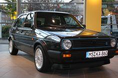 Volkswagen Golf II Limited : elle met tout le monde d'accord ! Golf 1, Volkswagen Golf, Classic Road Bike, Vintage Cars, Cool Cars, Old School, Dream Cars, Porsche, Classic Cars