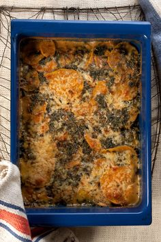 Kale and Sweet Potato Gratin | SAVEUR
