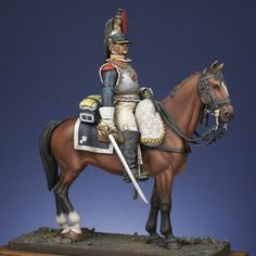 Mounted figures : Cuirassier of 7th regiment 1809