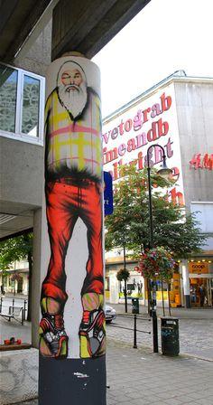 http://www.widewalls.ch/artist/david-choe/ by David Choe NUART, one of Europe's leading international annual street & urban art festivals based in Stavanger, Norway. #davidchoe http://www.widewalls.ch/artist/david-choe/