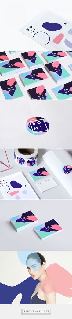 Somi Branding by Julia Kostreva Fivestar Branding – Design and Branding Agency & Inspiration Gallery Corporate Design, Brand Identity Design, Graphic Design Branding, Typography Design, Brand Design, Design Agency, Branding Agency, Logo Branding, Business Branding