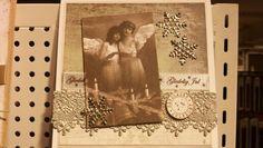 Christmas card Camelia