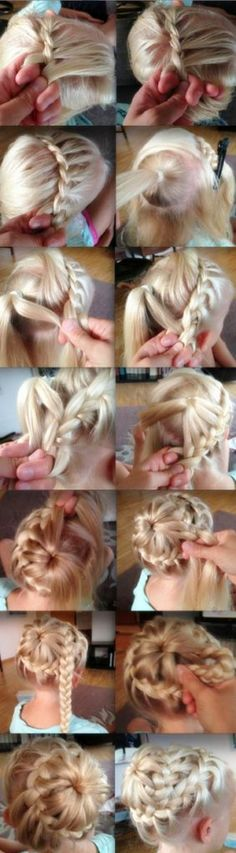 Looks like fun to try, wish i lived closer to my sister she always let me experiment with her hair