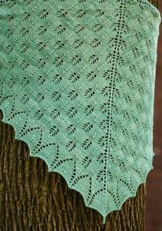 Shetland Triangle by Evelyn A. Clark Silky Spring Water