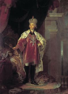 Article about the assassination of Tsar Paul I. The Russian emperor was assassinated on March (Image: Portrait of Paul I of Russia by Vladimir Borovikovsky. Peter The Great, Catherine The Great, Adele, Catalina La Grande, King On Throne, Friedrich Ii, Maria Feodorovna, House Of Romanov, Portraits From Photos
