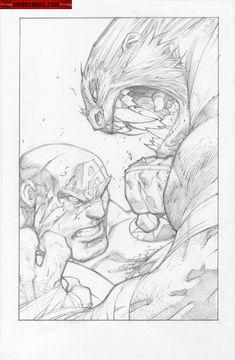 Kwan Chang :: For Sale Artwork :: Ultimates 3 # 2 by artist Joe Madureira