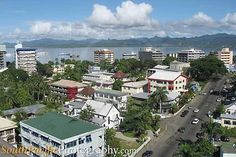 Suva City and Harbour - Suva Fiji