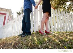 Engagement shoot at Nick's cove in Marshall