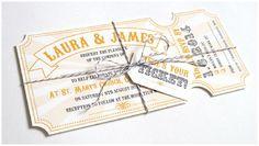 Die schönsten Einladungskarten für Hochzeiten von Something New Stationery bei…