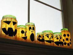 Halloween Mason Jars - Ideas for Using Mason Jars for Halloween - Country Living