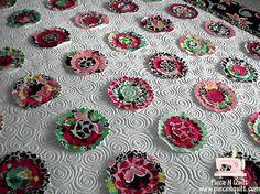 Piece N Quilt: Machine Quilting {Carol's quilt}