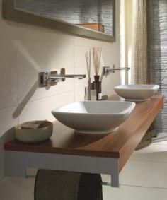 modern double sink bathroom vanity