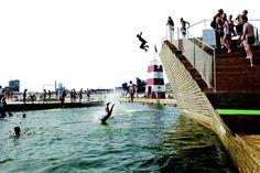 Copenhagen Harbour Bath by BIG. Thanks @LMNOP Magazine