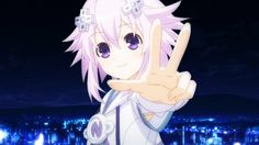 Today a new promotional video for the upcoming Hyperdimension Neptunia anime was released and you can check it out below. Interestingly enough, the video begins with an English text Star Wars opening that explains the anime's storyline which also reveals that it will feature an original story, not one found in the games the anime is based off of.