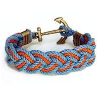 Kiel James Patrick Dutch Harbor Turks Head Knot Rope Bracelet