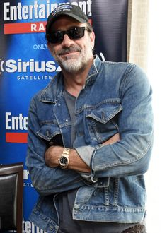 Jeffrey Dean Morgan attends SiriusXM's Entertainment Weekly Radio Channel Broadcasts From Comic-Con 2016 on July 22, 2016 in San Diego, California