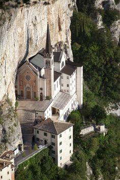 Basilica Santuario Madonna della Corona / Ferrara di Montebaldo / Verona, Italy // website: [www.madonnadellacorona.it]