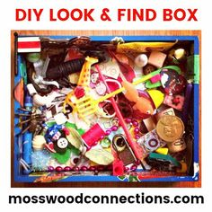 DIY LOOK AND FIND BOX