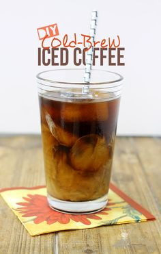 DIY Cold Brew Iced Coffee // thehealthymaven.com Oh, interesting, I didn't know the difference until now! via @HealthyAperture