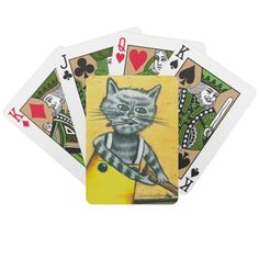 Wanchese Kitty Playing Cards